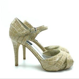 White House Black Market Platform Sandals